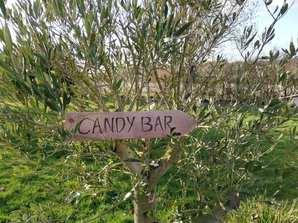 Pancartes bois mariage tours 37 indre et loire région centre location candy bar idée déco