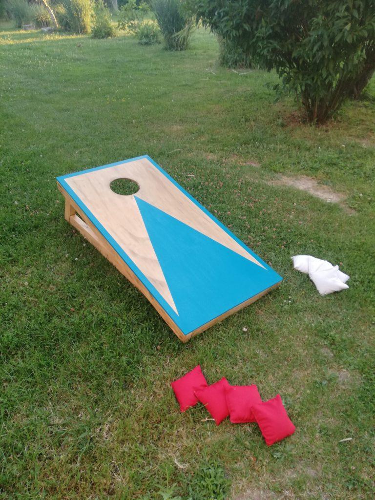 cornhole en location jeux de plein air bois