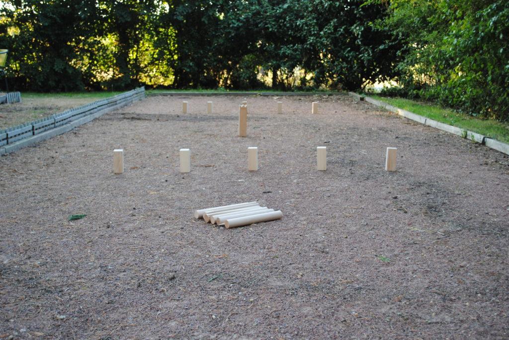 Location jeu en bois jeu du roi ou Kubb pour événements mariage réception indre et loire 37 tours région centre 41 75 91 86 36 18 28 45