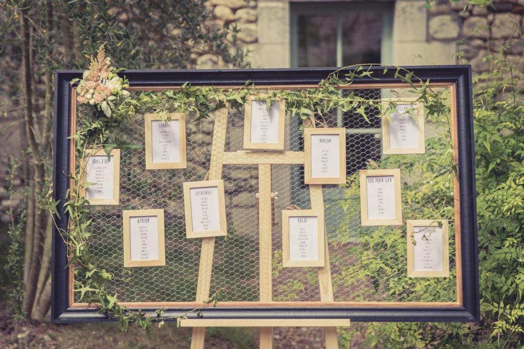 ocation plan de table grillagé, décoration pour mariage anniversaire, baptême, communion, 37 Tours indre et loire