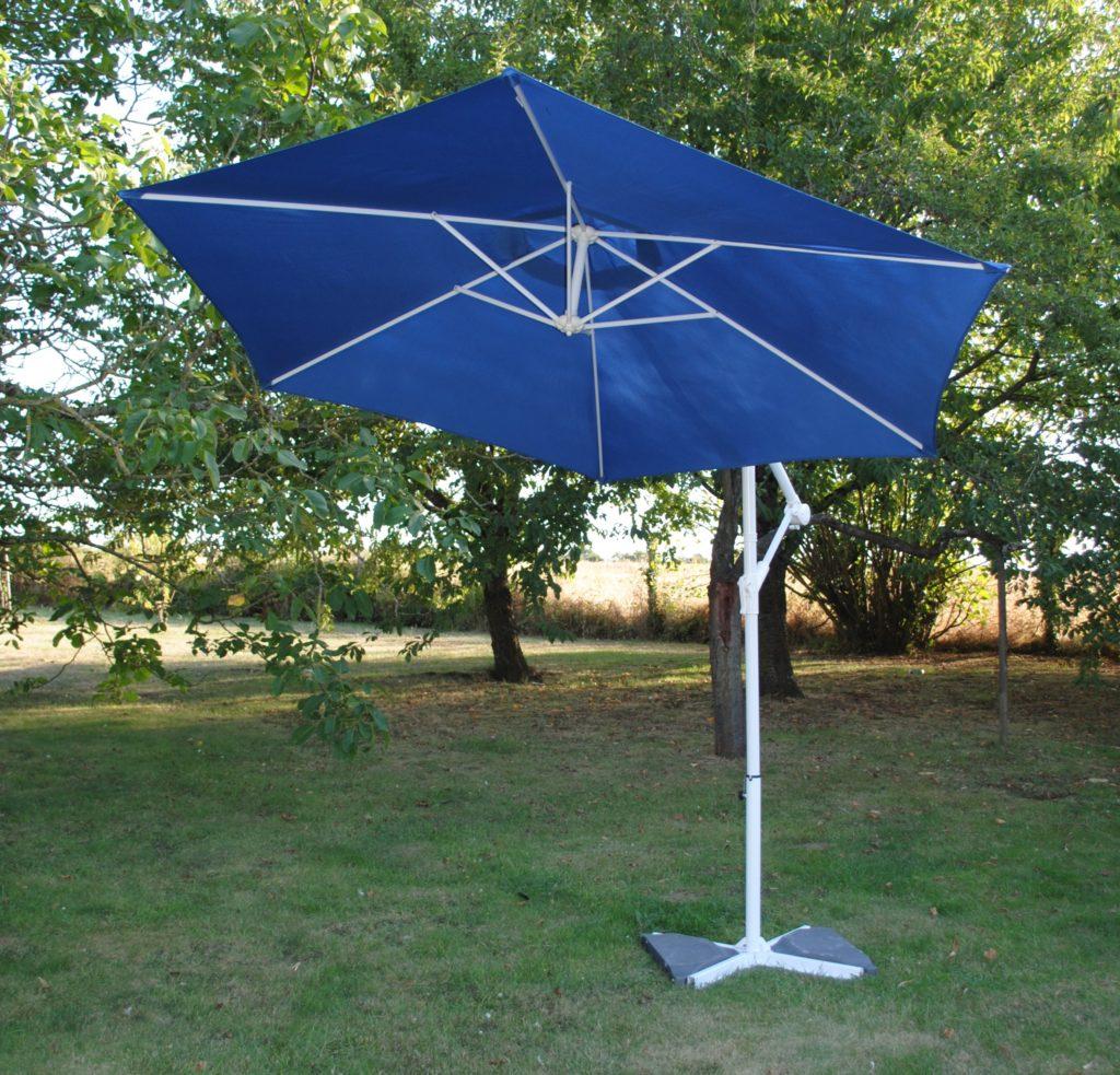 Location parasol déporté ou centré, blanc taupe rond ou rectangulaire 37 tours indre et loire paris région parisienne