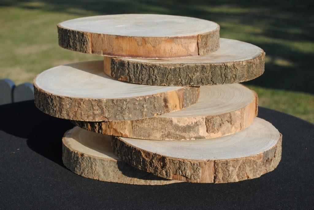 Rondin de bois à la location 3 dimensions