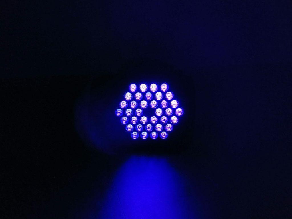 spot multi effets uv lumière noire location tours 37 indre et loire