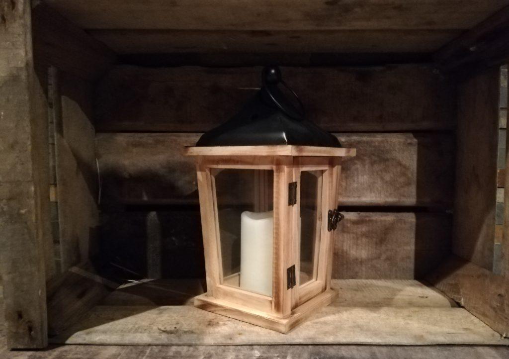 Location lanterne bois et métal décoration pour événement mariage baptême communion