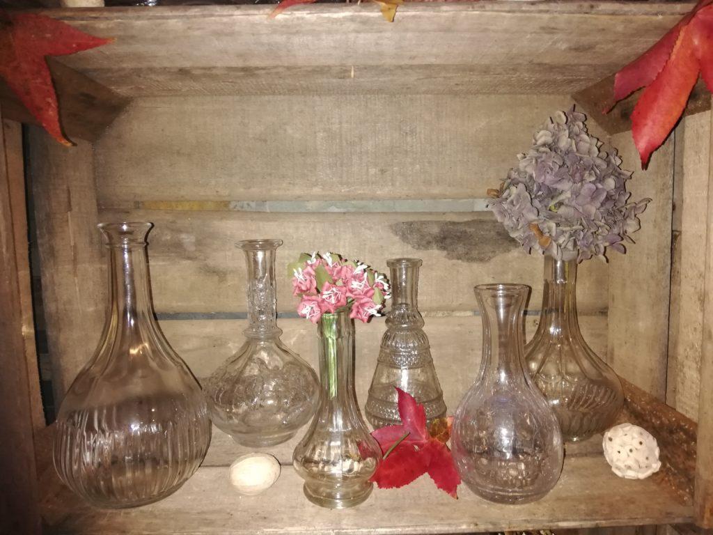 Vases vintage ciselé dépareillés location Tours 37 indre et loire région centre