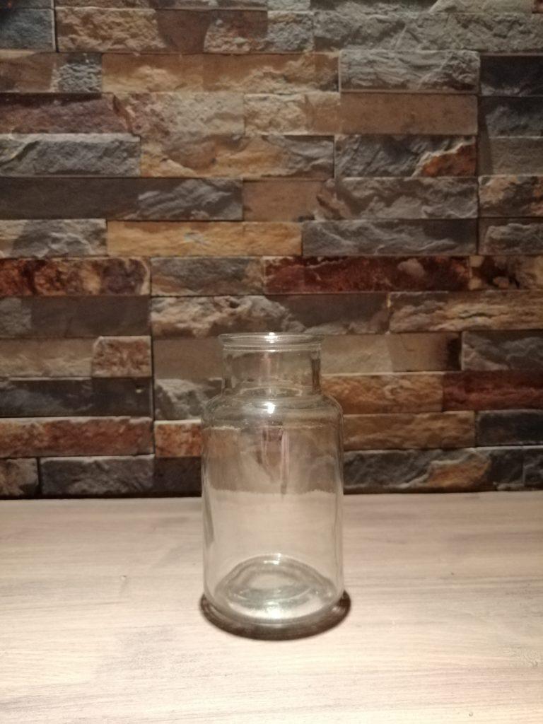 Flacon d'apothicaire verre blanc déco mariage vintage Tours 37 indre et loire