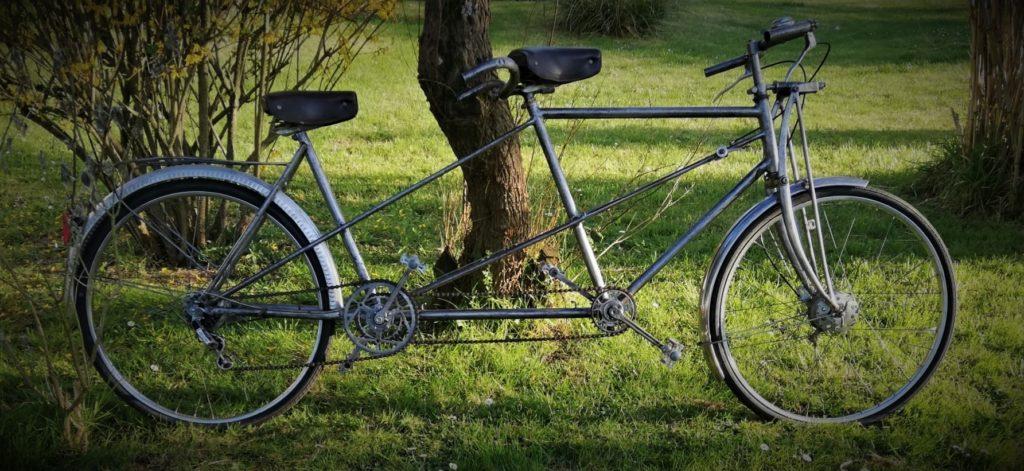 Tandem vintage vélo ancien location décoration mariage événement Tours 37 indre et loire