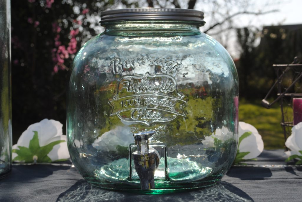 Bonbonnes verre 6  litres