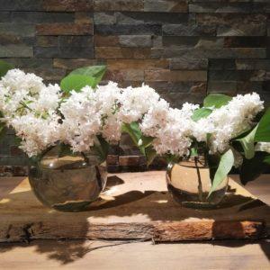 Vases ronds lot de 2 location décorations tours 37 indre et loire
