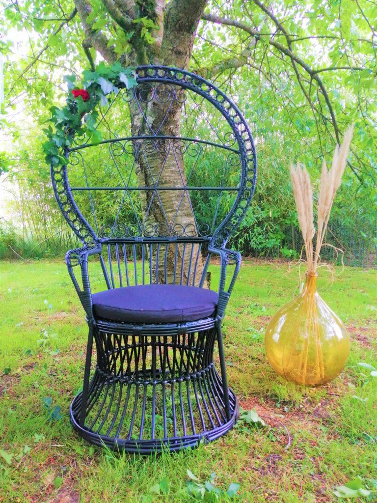 Location fauteuil Emmanuelle noir Tours 37 indre et loire 41 loir et cher région centre