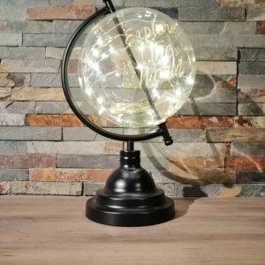 Globe terrestre lumineux location décoration Tours 37 indre et loire
